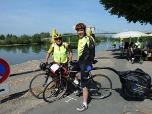 Robert et Jacques...au départ du Tour de France en avril 2011