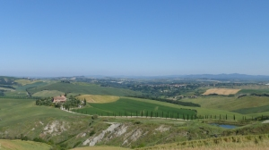 Entre Montepulciano et Sienne
