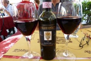 Brunello di Montalcino...un nectar à mi parcours!
