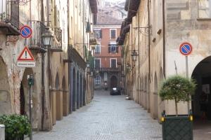 Rue d'arcades Piemontaises