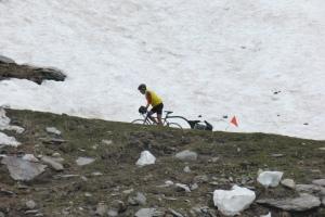 Robert dans la neige d'Agnel