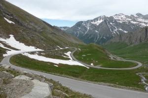 les lacets du Passo Agnello