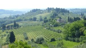"Paysage de la Toscane ""verte"""