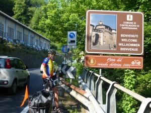 Village de Castelnuovo en Gargafagna dont est originaire Pierre