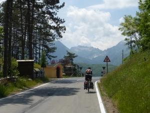Jacques dans les Alpes Apuanes