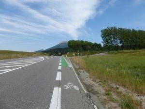 Belle piste cyclable entre Gap et Veynes