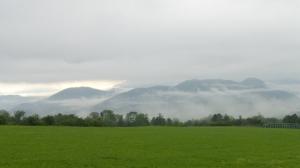 Brumes et bruines sur la vallée du Drac et de l'Isere